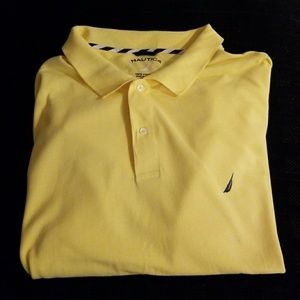 Big & Tall Nautica Polo Shirt in Yellow